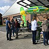 Wahlkampfstand in Laboe